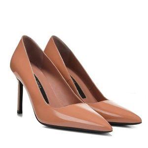 Via Spiga Nikole Blush Patent Leather 6.5